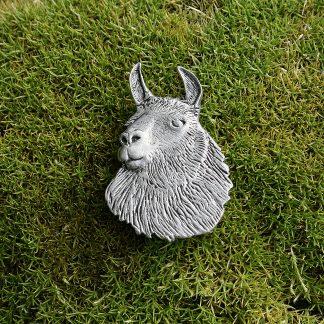 Brosche Lama